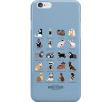 Cat World Leaders iPhone Case/Skin