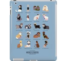 Cat World Leaders iPad Case/Skin