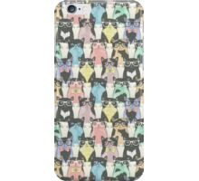cats with glasses iPhone Case/Skin