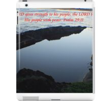 Strength, Blessing, Peace iPad Case/Skin