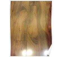 A Wooden Flooring Poster
