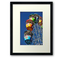 Caged View Framed Print