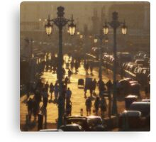 Brighton Evening Promenade Canvas Print