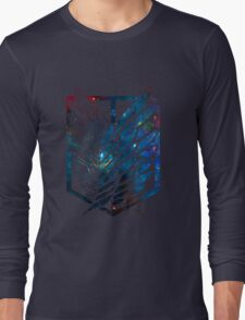 Wings Of Justice: Galaxy Long Sleeve T-Shirt