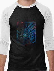 Wings Of Justice: Galaxy Men's Baseball ¾ T-Shirt