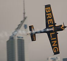 Nigel Lamb at Perth Round of Red Bull Air Race 2010 by Stephen Horton