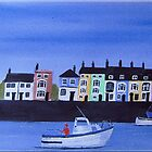 Harbourside Houses by FrancesArt