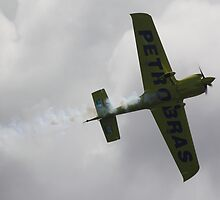 Adilson Kindlemann At Perth Round of Red Bull Air Race 2010 by Stephen Horton