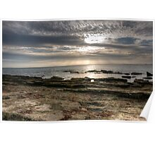 Sunset on Rocky Point Poster