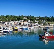 Lyme Regis Harbour - June 2015 by Susie Peek