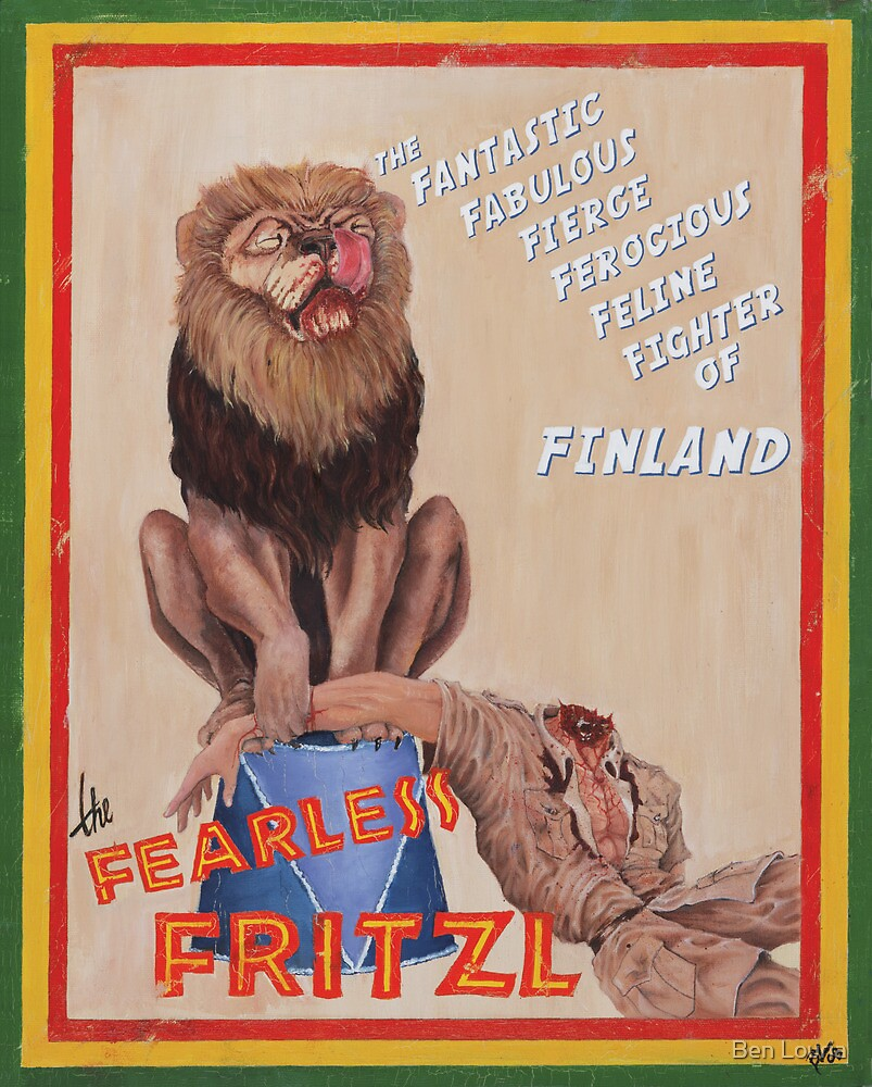 The Fearless Fritzl by Ben Louria