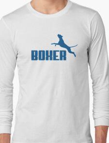 Boxer (blue) Long Sleeve T-Shirt