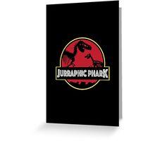 Jurraphic Phark Greeting Card