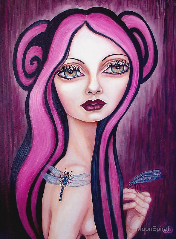 Dragonfly by MoonSpiral