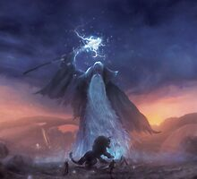 Thunder God (only 50!) by orioto