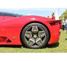 Ferrari wheel Photographic Print