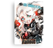 Still waiting for FALLOUT 4 Canvas Print