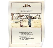 Under the Window Pictures and Rhymes for Children Edmund Evans and Kate Greenaway 1878 0059 Baker's Boy Poster