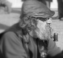 the pipe smoker by larry flewers
