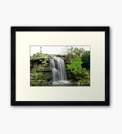Lytham waterfall Framed Print