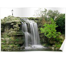 Lytham waterfall Poster