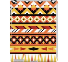 Fiery Aztec Pattern iPad Case/Skin