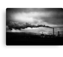 Industrial Eruption Canvas Print