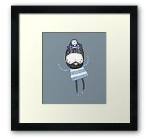 Let's boogie like a pirate Framed Print