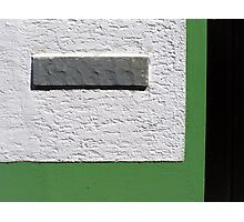 Wall Detail Photographic Print