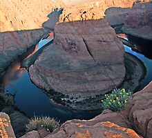 Horseshoe Bend View 1 by Judy Grant