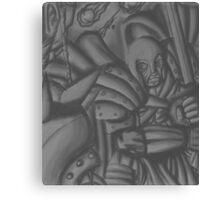 man versus orc Canvas Print