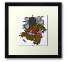 voodoo doll Framed Print