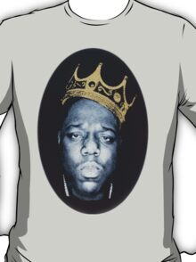 Notorious Big Biggie Wearing King Crown NY T-Shirt
