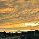 Sunset over South Porcupine by Christopher Clark