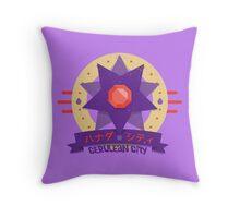 Kanto Gym Logos - Cerulean City (2015) Throw Pillow