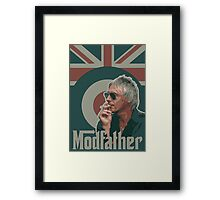 Weller - Modfather Framed Print