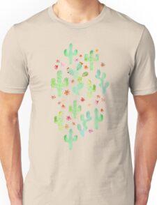 Watercolor Cacti Unisex T-Shirt