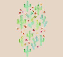 Watercolor Cacti T-Shirt