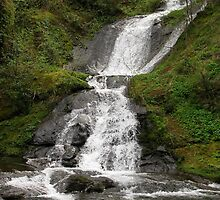 Annice Falls at Sweet Creek by bicyclegirl