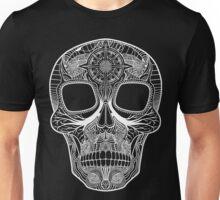 Inked Candy Skull - Journey - White Unisex T-Shirt