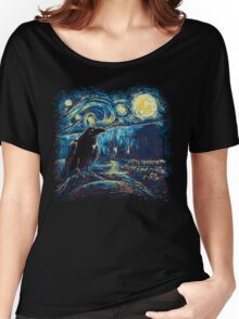 Starry Night's Watch Women's Relaxed Fit T-Shirt
