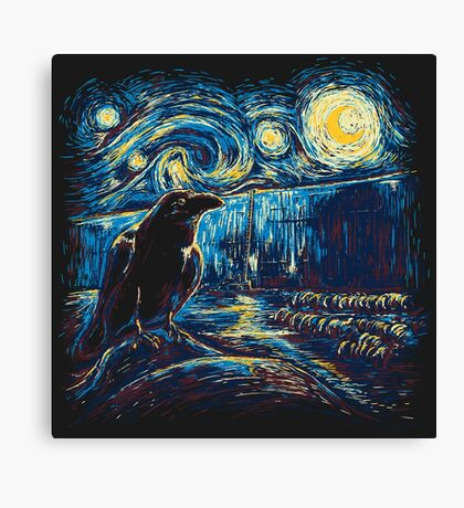 Starry Night's Watch Canvas Print