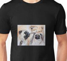 Pug shots Unisex T-Shirt