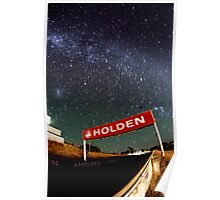 Holden and the stars Poster