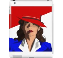 Agent Peggy Carter iPad Case/Skin