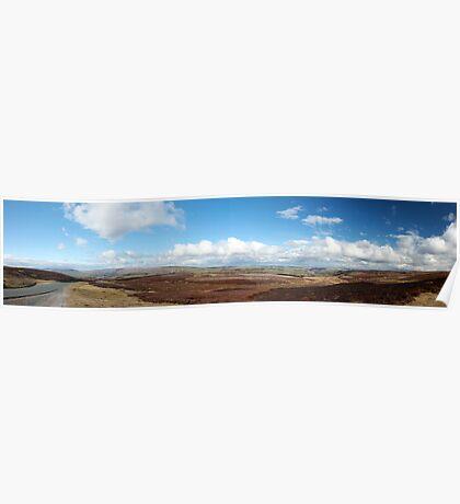 Reeth Panoramic Poster
