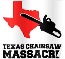 Texas Chainsaw Massacre, Minimalist Design Quote Poster