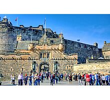 Edinburgh Castle Gatehouse Photographic Print