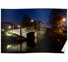 Huband Bridge - Grand Canal, Dublin Poster