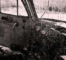Snoy Truck Interior by mickphoto